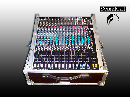 Mischpult Soundcraft Spirit M12