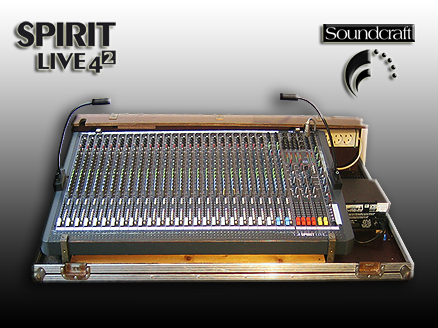 Mischpult Soundcraft Spirit Live 4 II 28/4