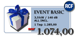 Super Deal für Events